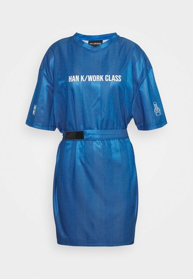SPORT TEE DRESS - Day dress - blue