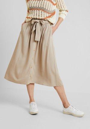 MIRE - A-line skirt - camel