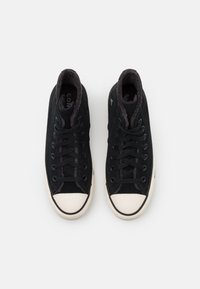 Converse - CHUCK TAYLOR ALL STAR  - High-top trainers - black/almost black/egret - 5