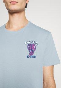 YOURTURN - UNISEX - T-shirt med print - blue - 6
