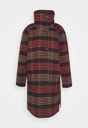 Classic coat - chocolate brown