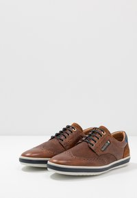 Pantofola d'Oro - MILAZZO UOMO LOW - Chaussures à lacets - tortoise shell - 2