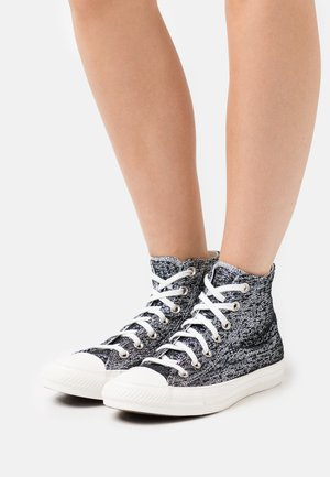 CHUCK TAYLOR ALL STAR - High-top trainers - black/silver/white