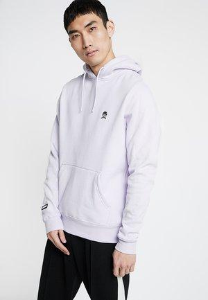 SMALL ICON - Hoodie - pale lilac/black