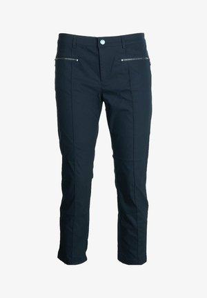 KAREN-G - Trousers - blue