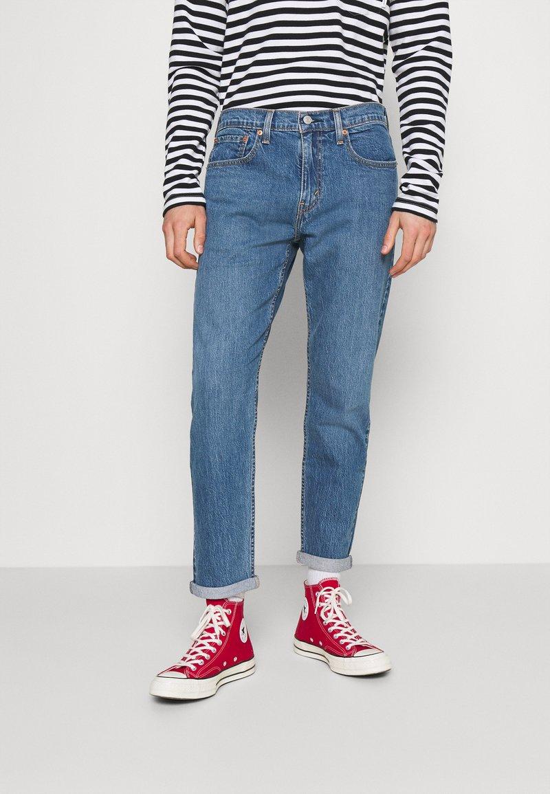 Levi's® - 502™ TAPER HI BALL - Jeans Tapered Fit - blue denim