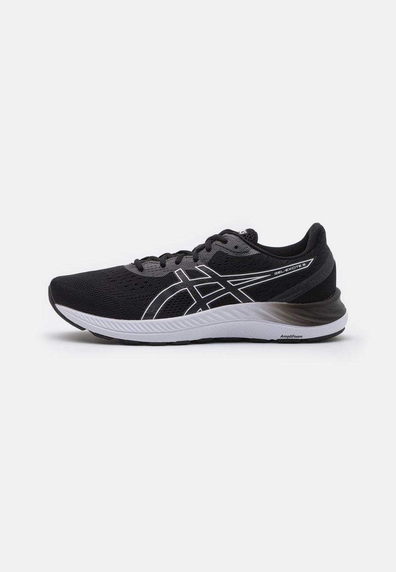ASICS - GEL EXCITE 8 - Neutral running shoes - black/white