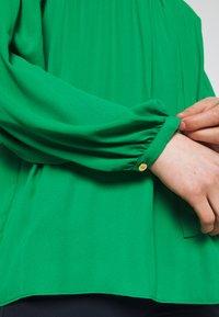 Lauren Ralph Lauren - DRAPEY - Long sleeved top - hedge green - 5