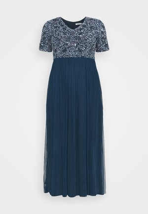 LIZIANE CURVE - Cocktail dress / Party dress - navy