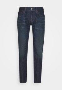 SCANTON SLIM - Slim fit jeans - dark-blue denim