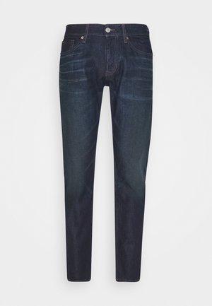 SCANTON SLIM - Slim fit -farkut - dark-blue denim
