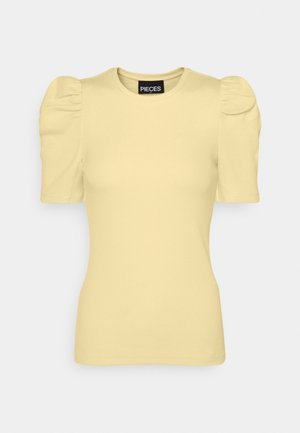 PCANNA  - Basic T-shirt - pale banana