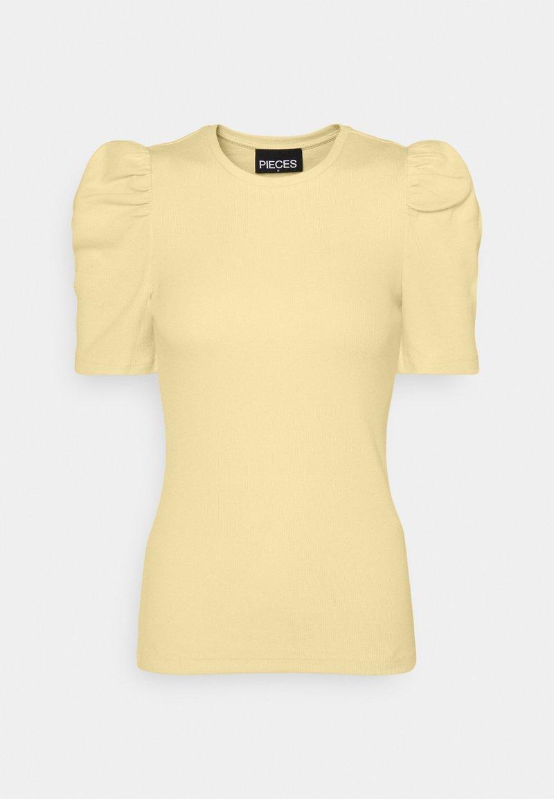 Pieces - PCANNA  - Basic T-shirt - pale banana