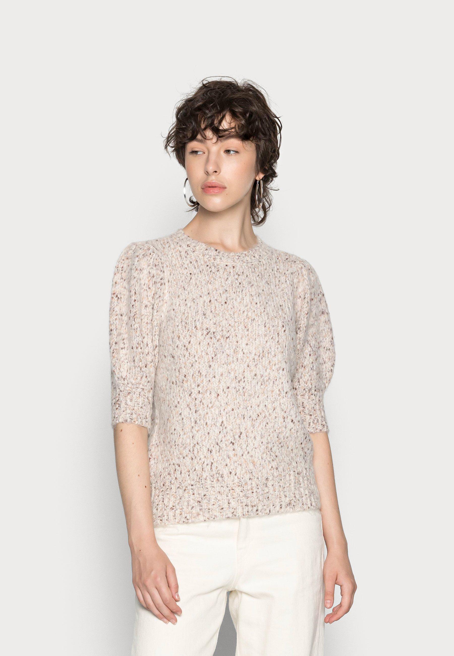 Women VMDINA O NECK BLOUSE - Print T-shirt