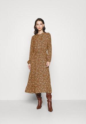 ONLLIMA DRESS - Shirt dress - rust