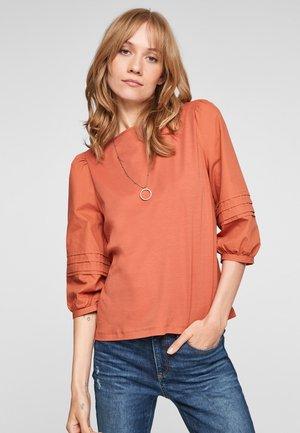 BIESJES - Long sleeved top - dark orange