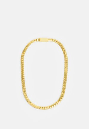 EXCLUSIVE CURB NECKLACE UNISEX - Collana - gold-coloured