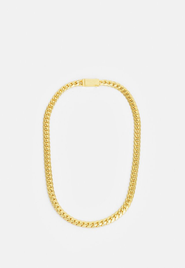 EXCLUSIVE CURB NECKLACE UNISEX - Halsband - gold-coloured
