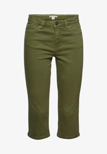SKINNY CAPRI - Bukse - khaki