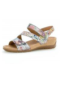 Gabor - Wedge sandals - mehrfarbig - 1