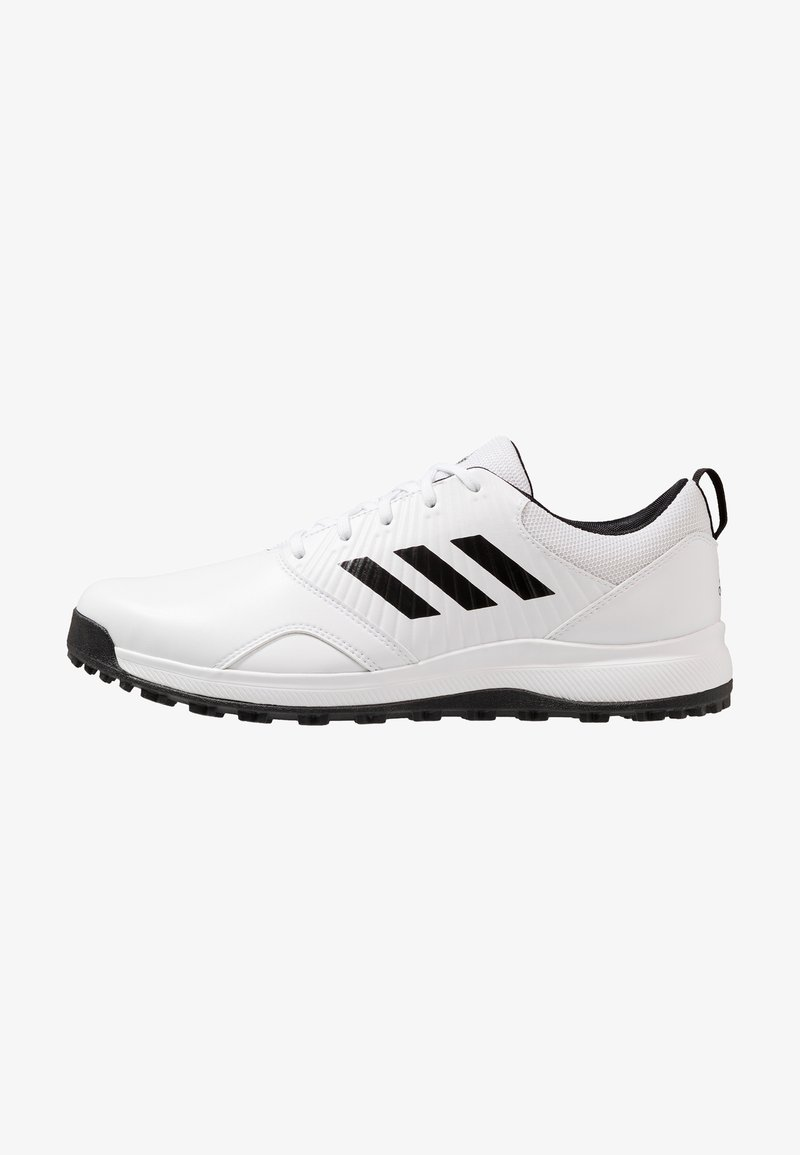 adidas Golf - TRAXION - Golfové boty - footwear white/core black/grey six