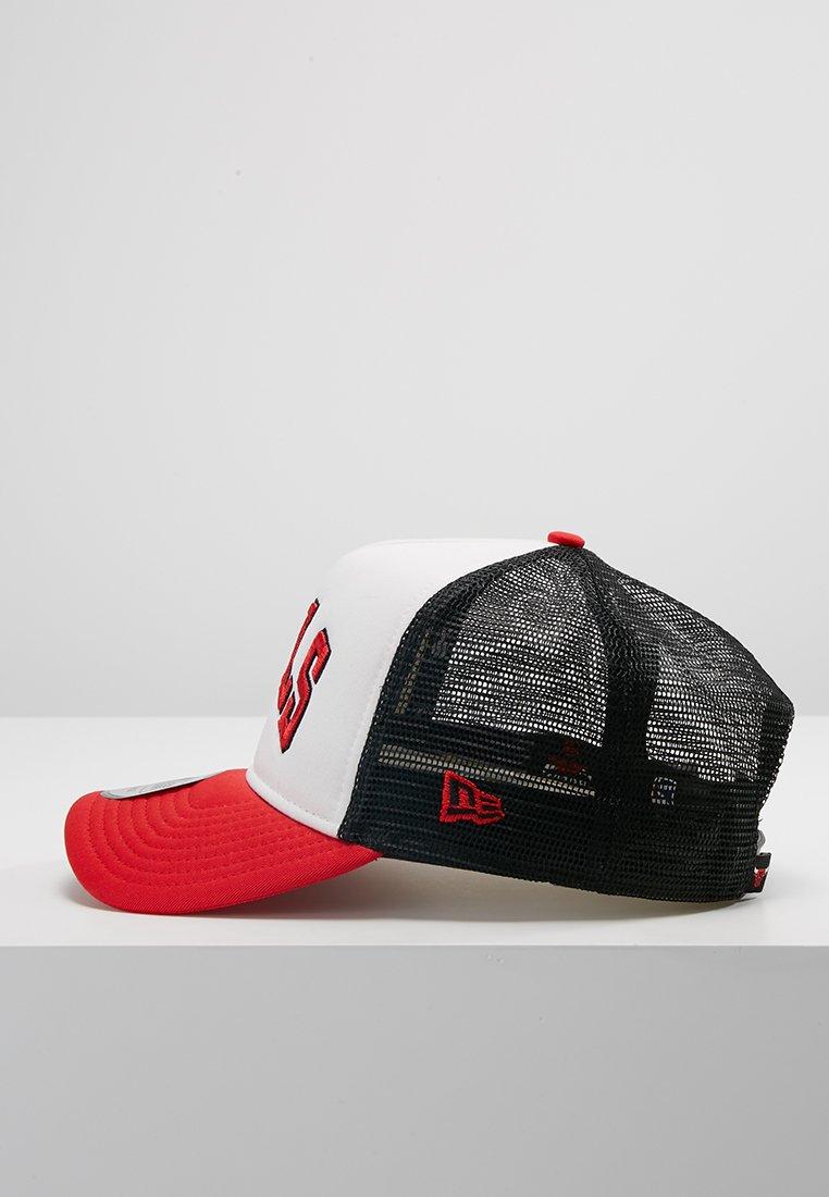 New Era Team Trucker Colour Block - Cap Red/white/rot