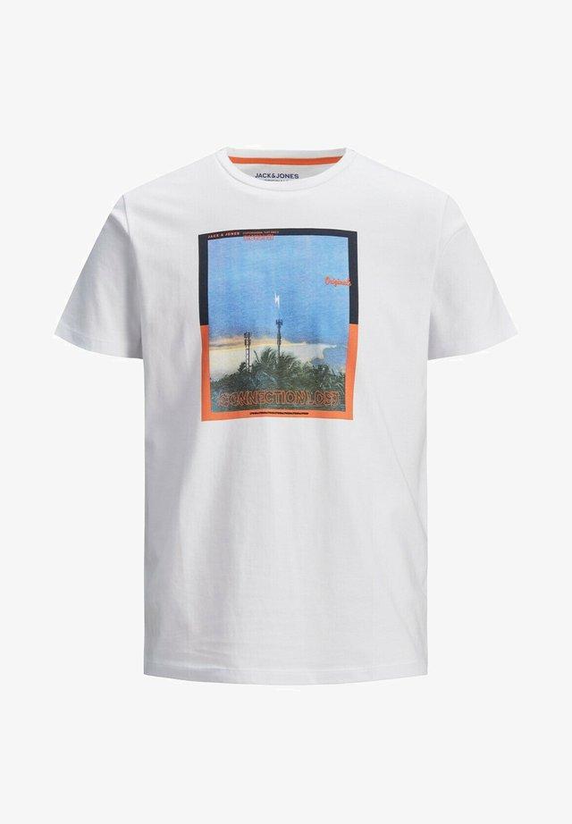 JORALLROUND - T-shirts print - white