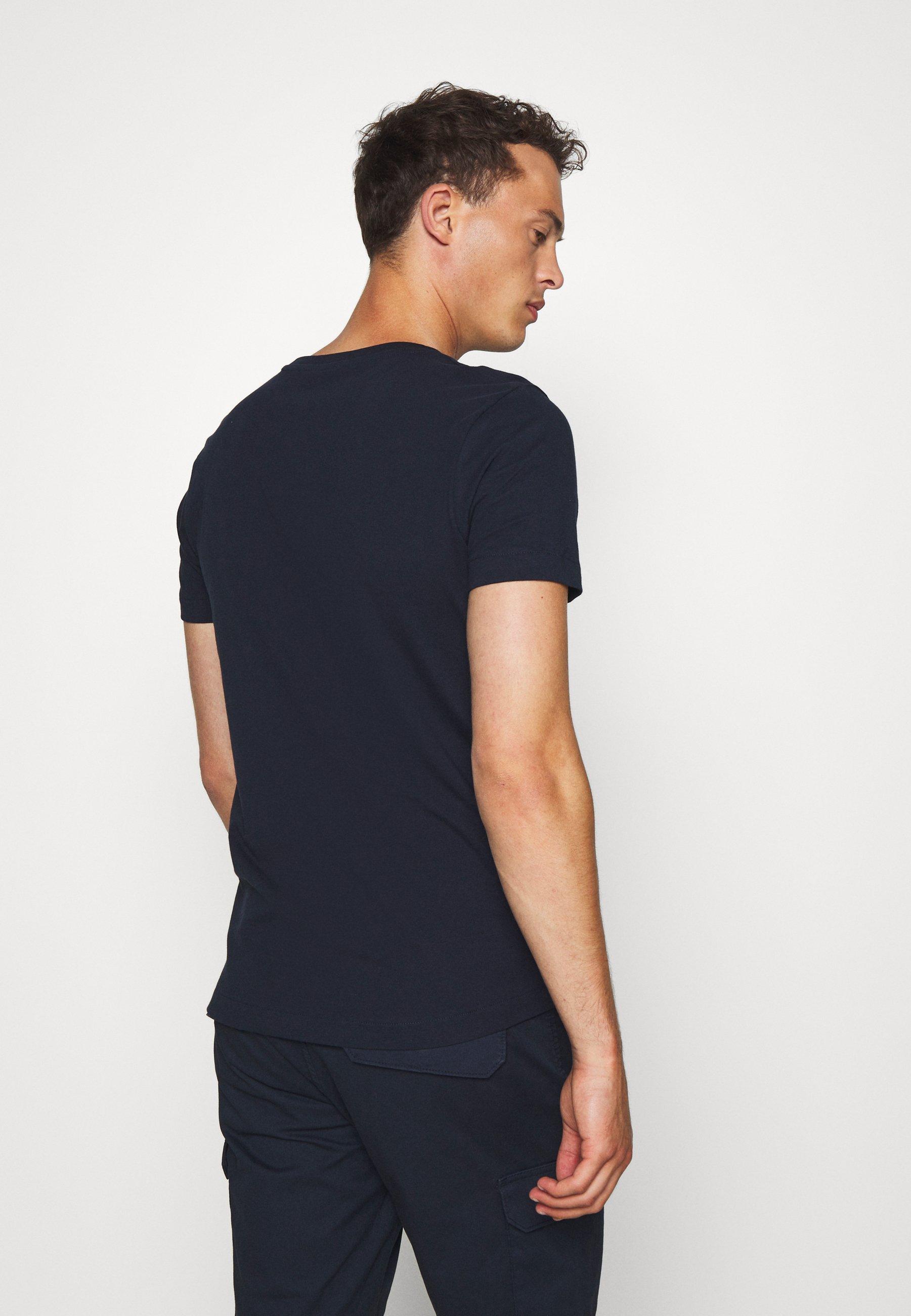 TOM TAILOR DENIM Print T-shirt - sky captain blue eqoqP