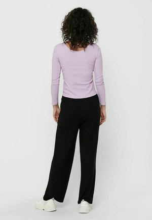 ONLSIMPLE LIFE BUTTON - Long sleeved top - orchid bloom