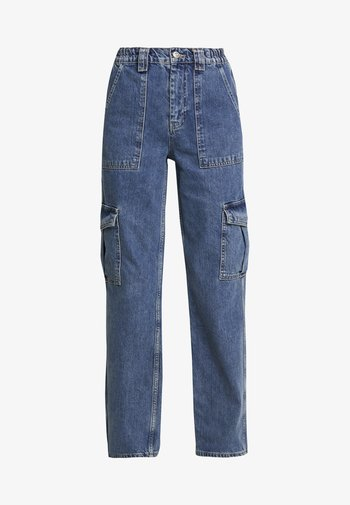 SKATE - Straight leg jeans - blue denim