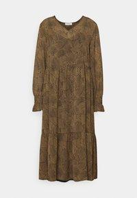 Moss Copenhagen - RIKKELIE DRESS - Day dress - brown - 4