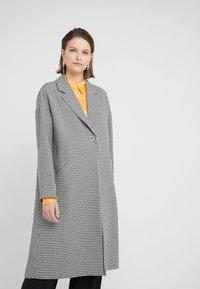 PS Paul Smith - Classic coat - black/white - 0