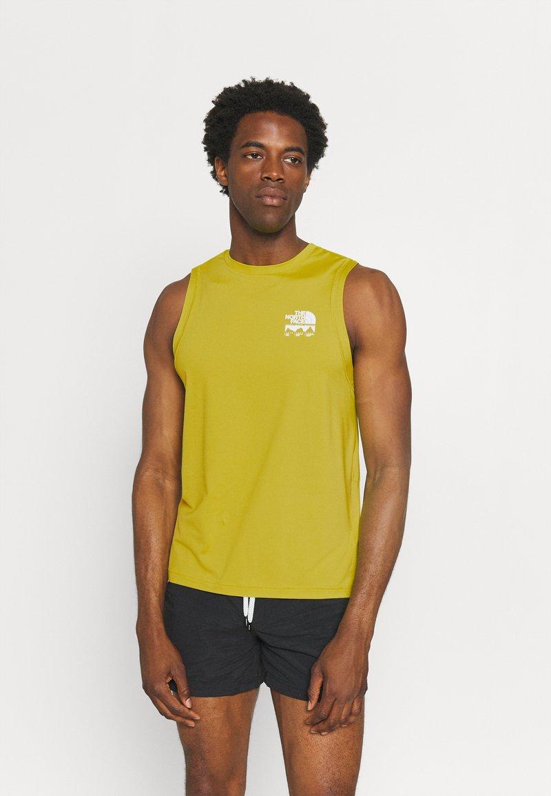 The North Face - GLACIER TANK - Top - citronellegreen
