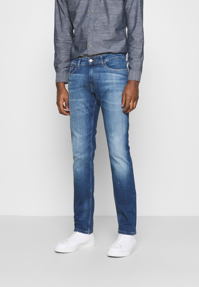 Tommy Jeans - SCANTON 132 MID STRETCH - Jeans Slim Fit - denim