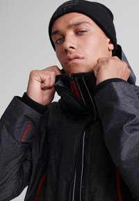 Superdry - HOODED POLAR WIND ATTACKER - Training jacket - charcoal - 3