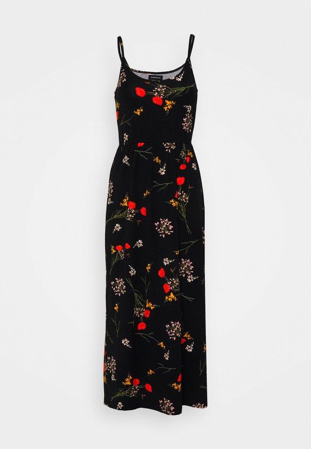 Sukienka z dżerseju - black/multi-coloured