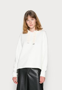 Marc O'Polo - LONG SLEEVE HOODED CUFFS - Hoodie - cotton white - 0