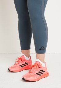 adidas Performance - SUPERNOVA - Neutral running shoes - signal pink/core black/copper metallic - 0