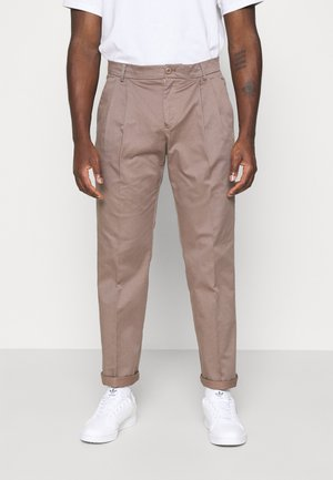 LINCOLN WIDE TROUSERS - Tygbyxor - caribou