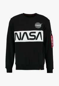 Alpha Industries - NASA INLAY  - Sudadera - black - 5