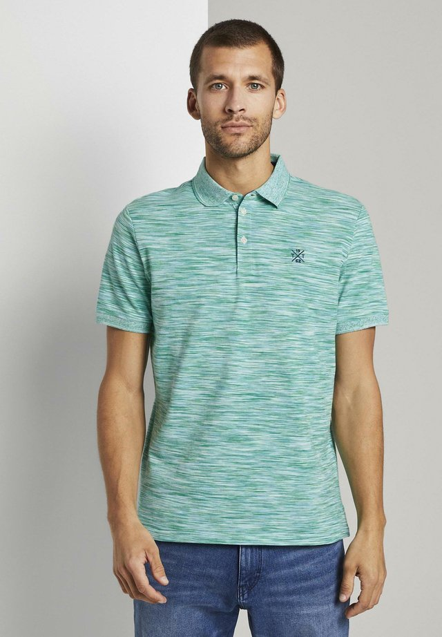 MELIERTES  - Polo - green spacedye