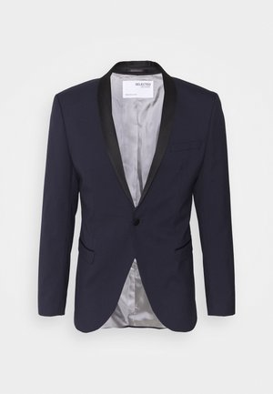 SLHSLIM SKYLOGAN TUX - Giacca - navy blazer