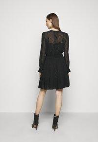 MICHAEL Michael Kors - TASSLE DRESS - Cocktail dress / Party dress - black - 2