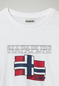 Napapijri - Long sleeved top - bright white 002 - 2