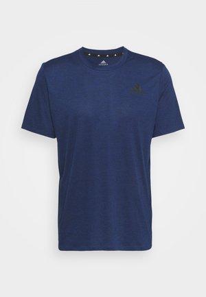 T-shirts basic - team royal blue melange/black
