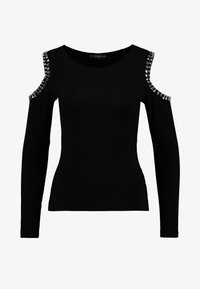 Guess - LEONORA - Long sleeved top - jet black - 4