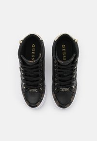 Guess - RIGGZ - High-top trainers - black brass - 5