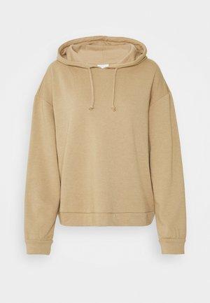 VIRUST HOODIE - Sweatshirt - beige