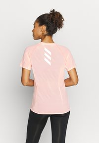 adidas Performance - ADI RUNNER TEE - Print T-shirt - coral - 2