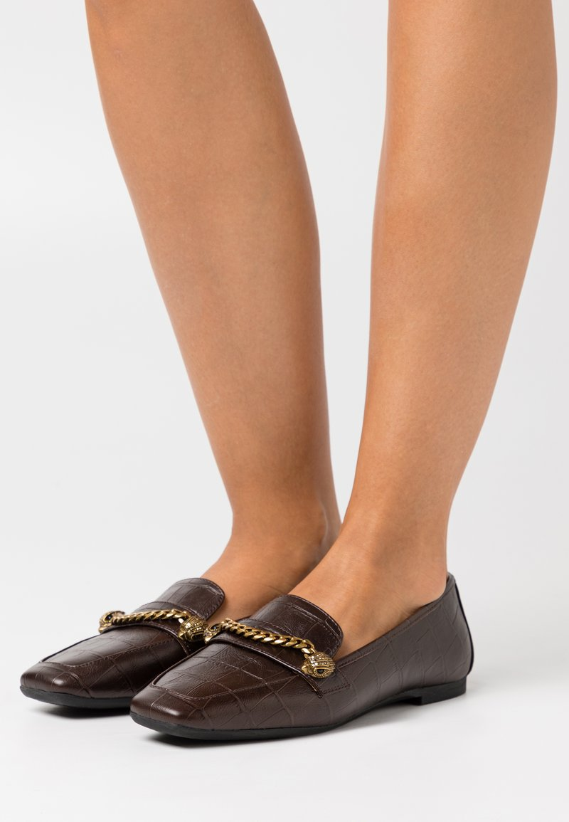 Kurt Geiger London - CAMILLA - Slip-ons - brown